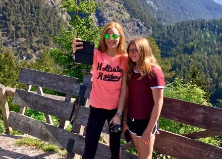 TD-Selfie an der Zugspitze